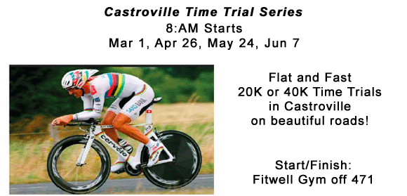 Cstroville Time Trial series